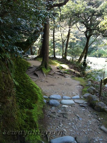 鶴仙峡遊歩道