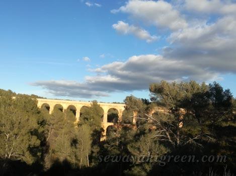 世界遺産 タラゴナの水道橋