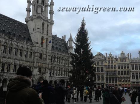 ベルギー・ブリュッセルのグラン・プラス