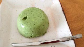 【レシピ】抹茶ムース