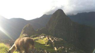 【旅】マチュピチュ(ペルー)、ここに来れたことに感謝の気持ち
