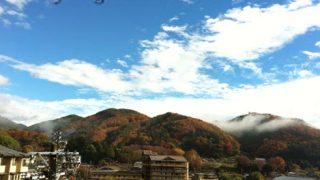長野に小旅行。昼神温泉、松川のリンゴ、ヘブンスそのはら