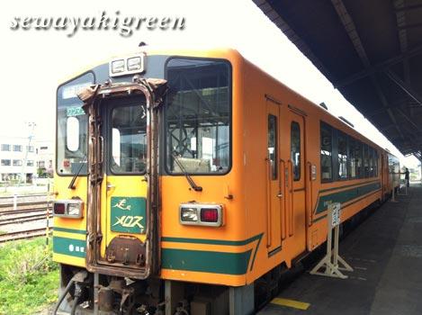 津軽鉄道「走れメロス」号