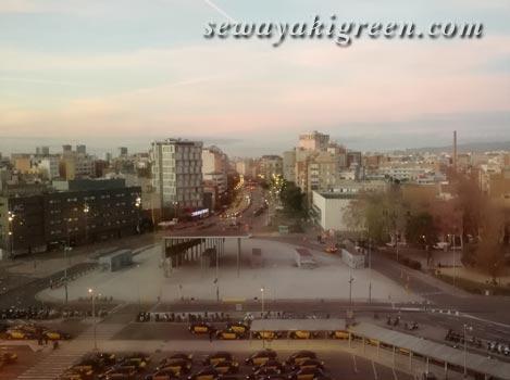 バルセロナの朝