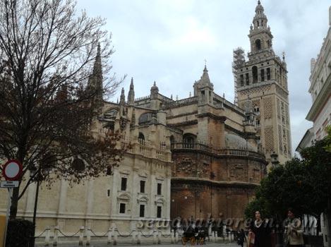 スペイン・セビリアのカテドラル