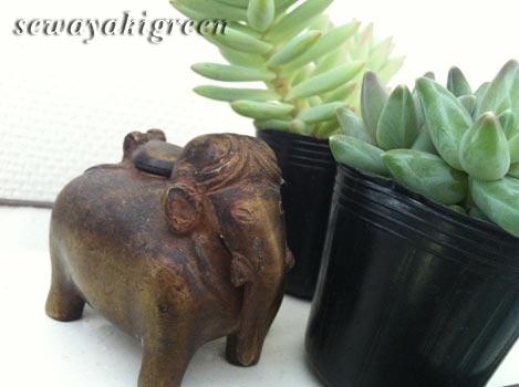 象のインク壺