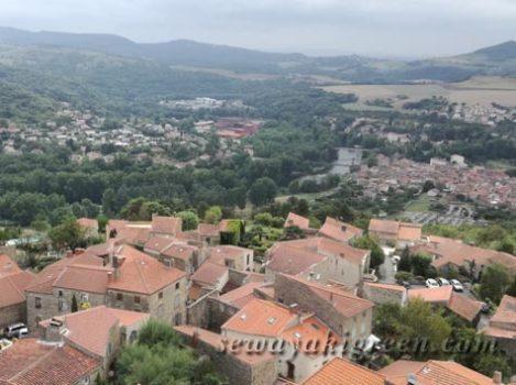 Montpeyrouxからの眺め