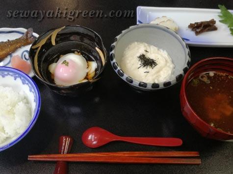 坂巻温泉の朝食