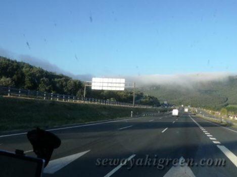 ポルトガルまでドライブ