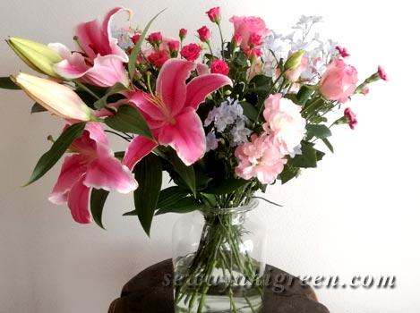 退職時の花束