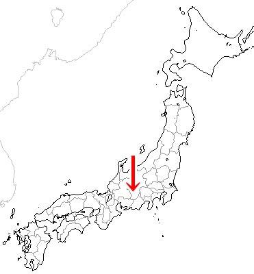 昼神温泉map