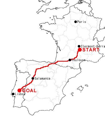 ポルトガルへの道